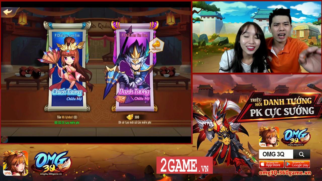Nên chơi OMG 3Q VNG hay Tam Quốc GO? 9