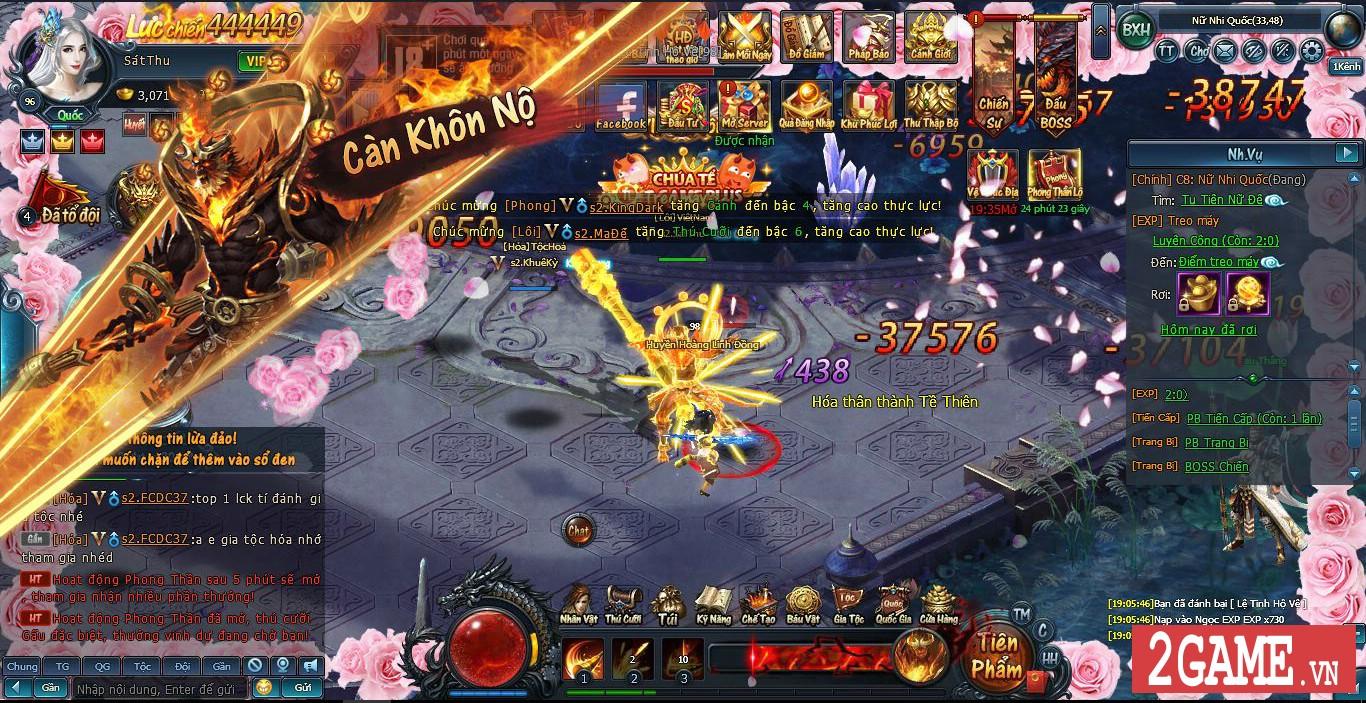 Tặng 333 giftcode webgame Thần Tiên Kiếp 1