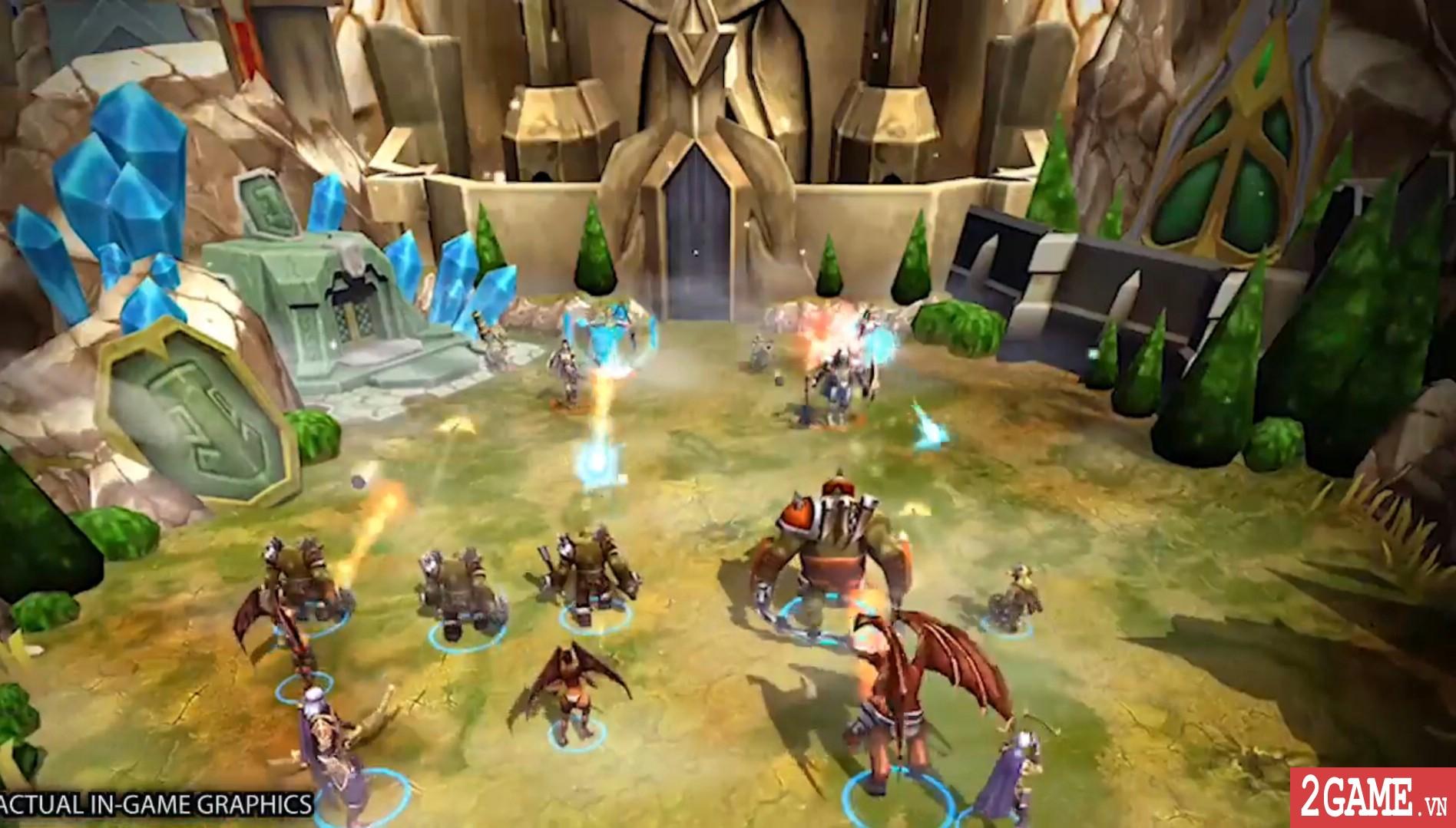 Battle Hordes - Game chiến thuật điều binh khiển tướng 3D đầy thú vị 1