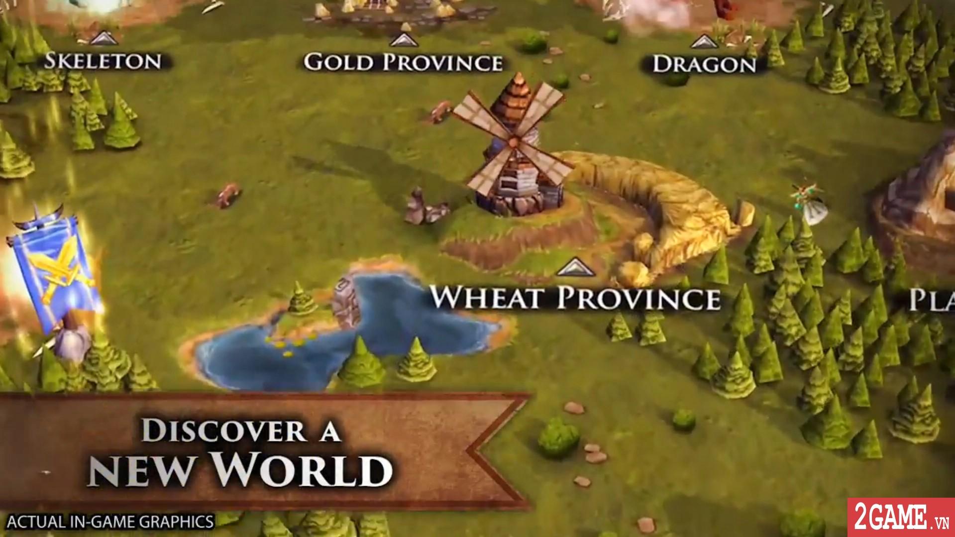 Battle Hordes - Game chiến thuật điều binh khiển tướng 3D đầy thú vị 2