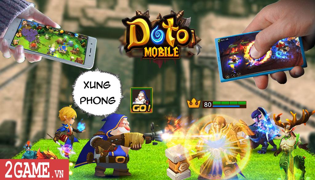 Doto Mobile cho phép tướng biến hình xuất chiêu đầy bá đạo 6
