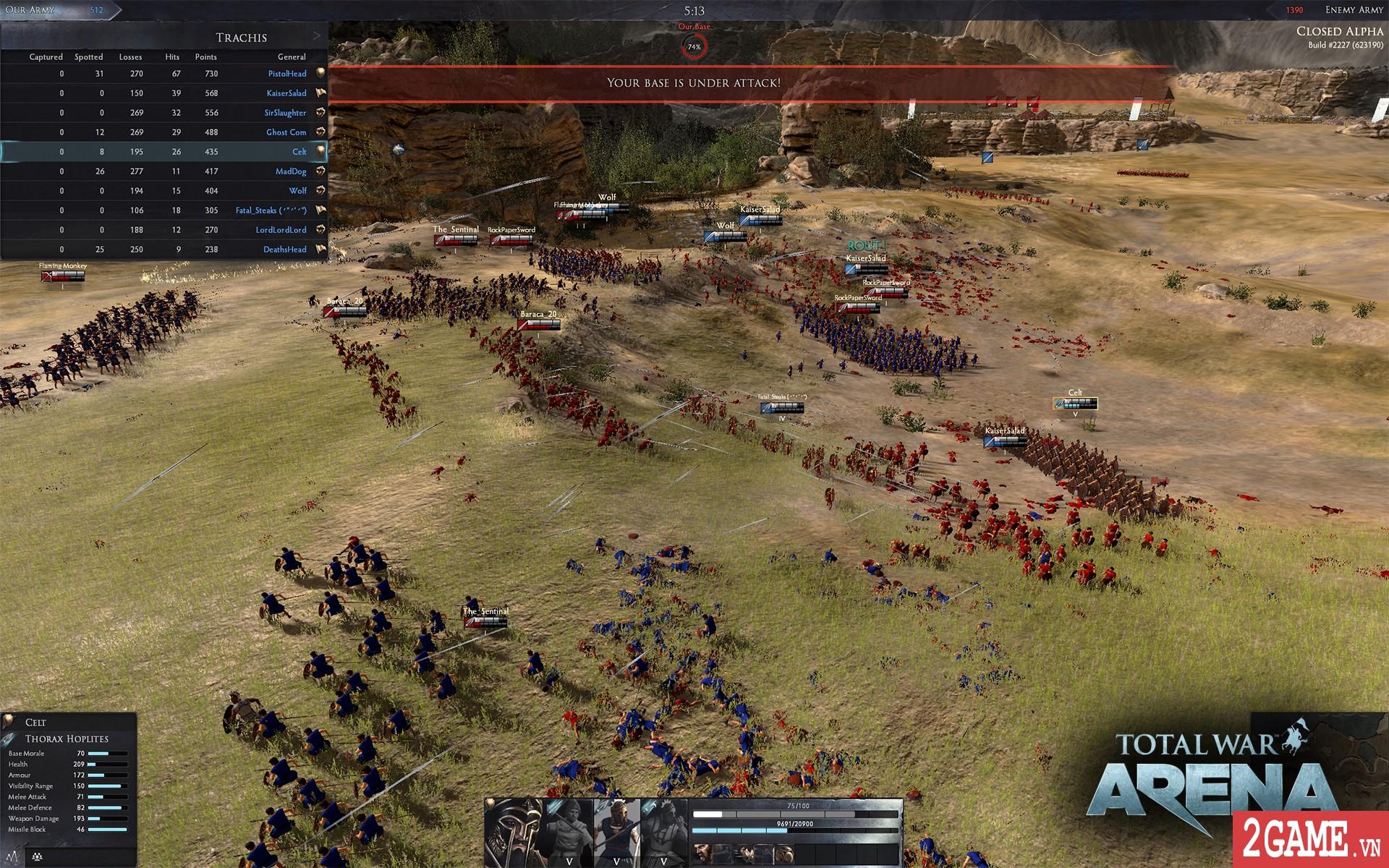Total War: Arena - Game chiến thuật 3D quy mô bậc nhất trên PC bất ngờ cho chơi miễn phí hoàn toàn 0