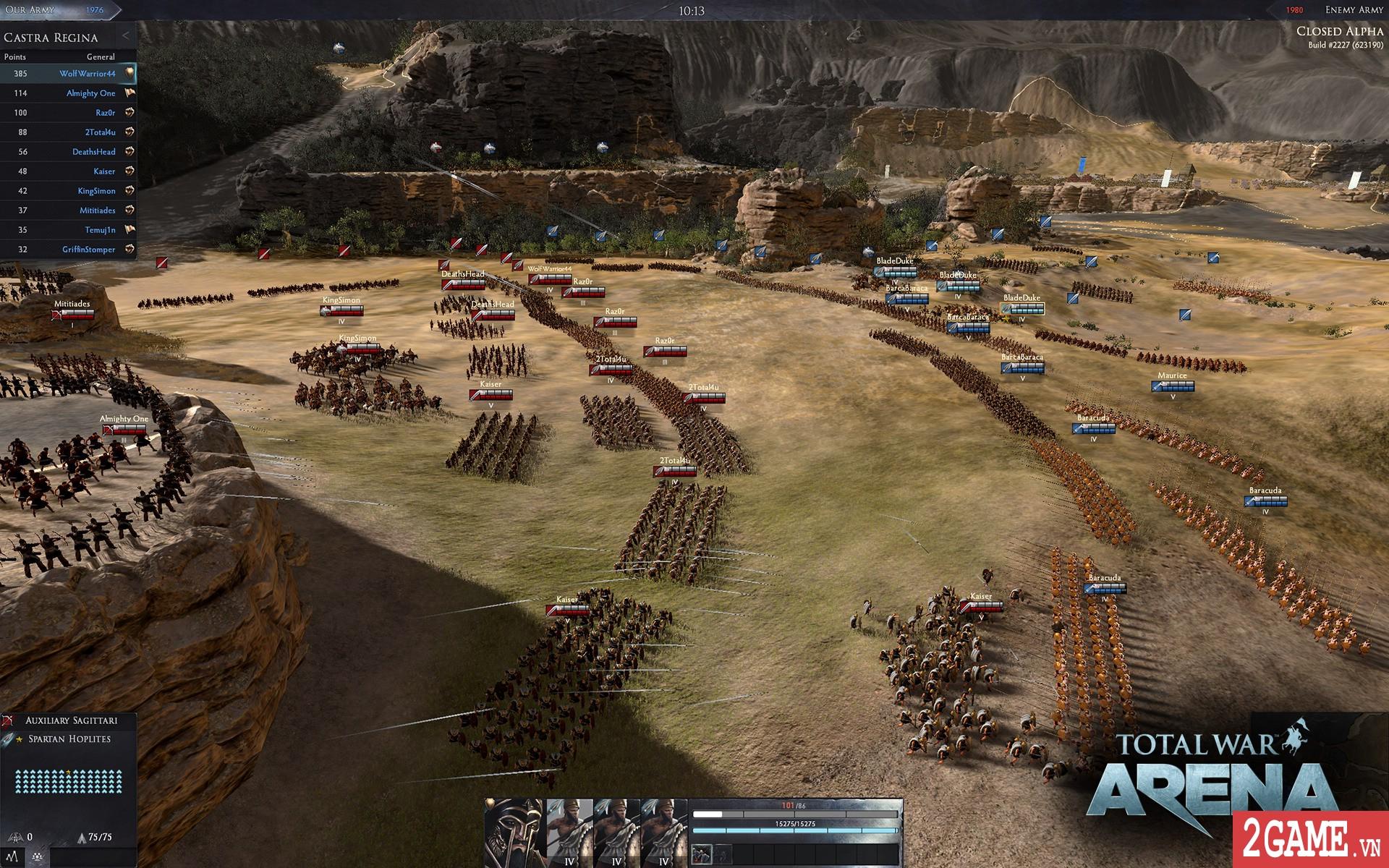 Total War: Arena - Game chiến thuật 3D quy mô bậc nhất trên PC bất ngờ cho chơi miễn phí hoàn toàn 1