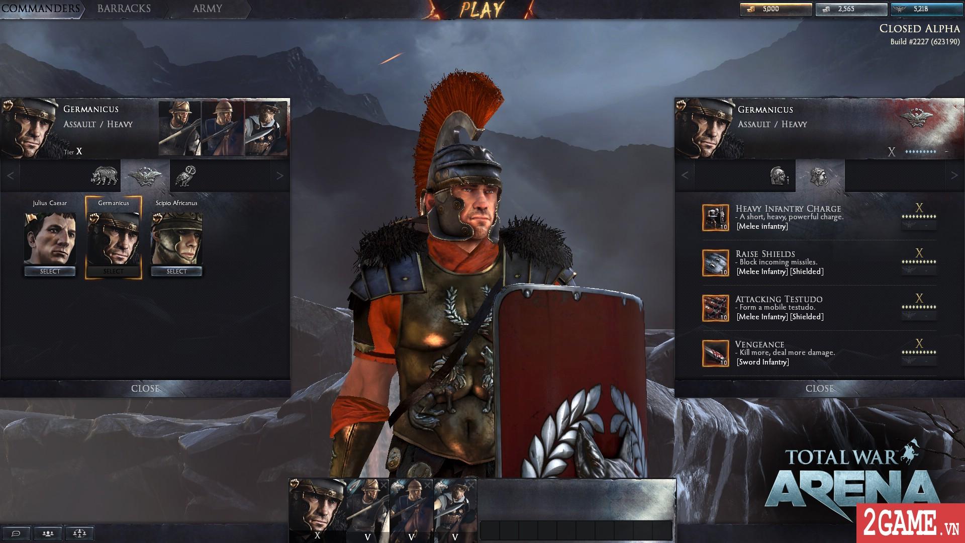 Total War: Arena - Game chiến thuật 3D quy mô bậc nhất trên PC bất ngờ cho chơi miễn phí hoàn toàn 2