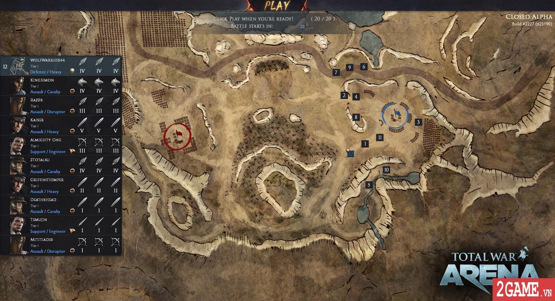 Total War: Arena - Game chiến thuật 3D quy mô bậc nhất trên PC bất ngờ cho chơi miễn phí hoàn toàn 3