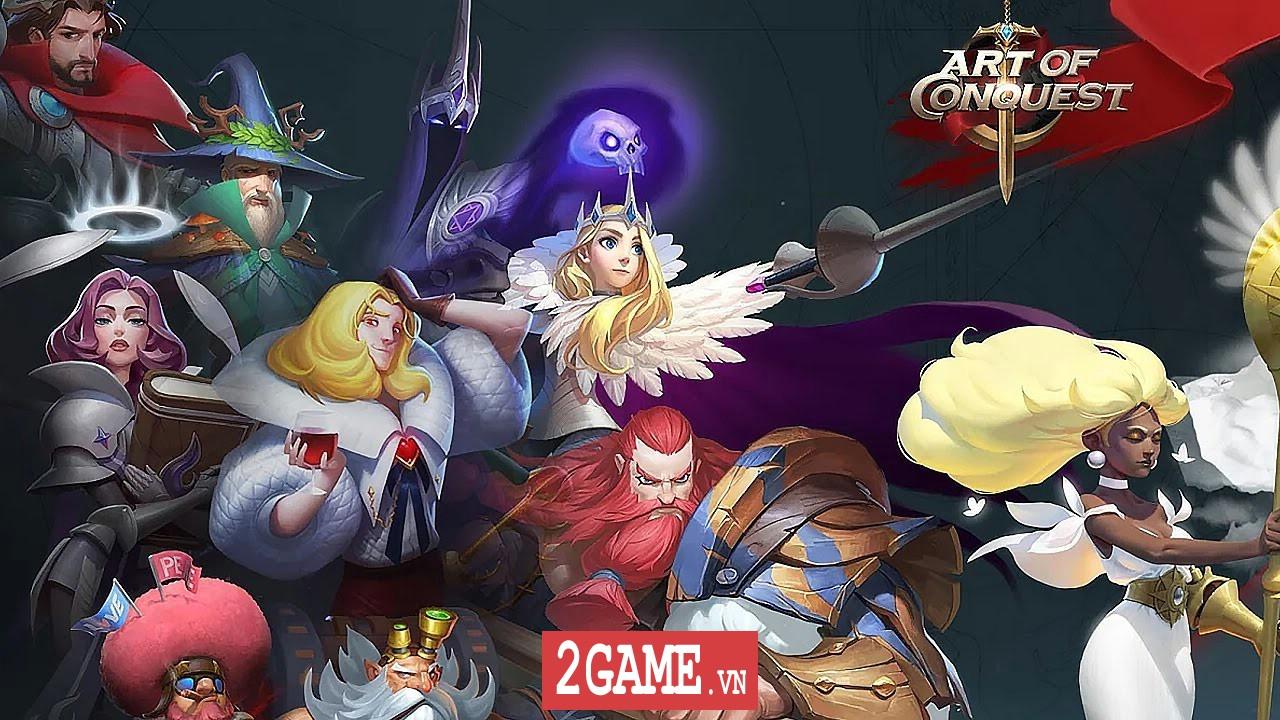Art of Conquest – Game chiến thuật đỉnh cao với lối chơi dàn trận đa dạng, hỗ trợ cả tiếng Việt 0