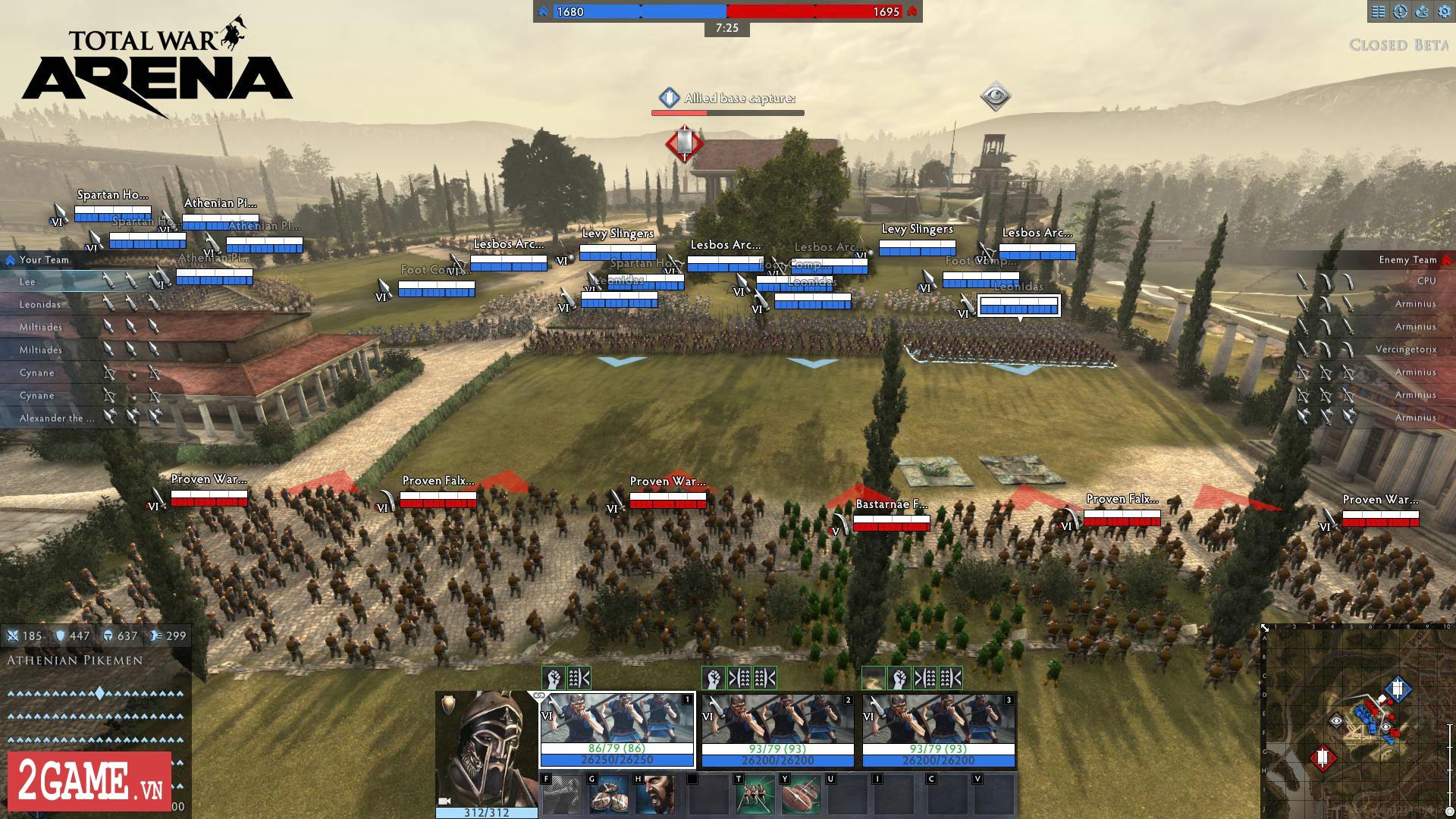 Total War: Arena - Game chiến thuật 3D quy mô bậc nhất trên PC bất ngờ cho chơi miễn phí hoàn toàn 6
