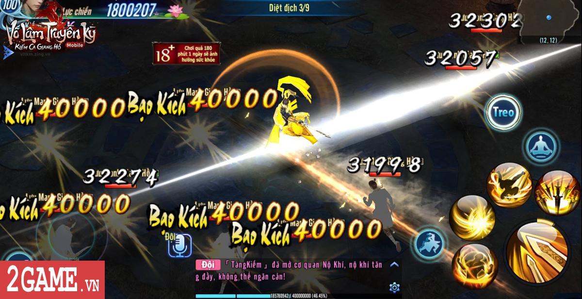Hơn 100.000 lượt share từ game thủ Võ Lâm Truyền Kỳ Mobile chỉ để chơi Trường ca và Tàng kiếm phái 1