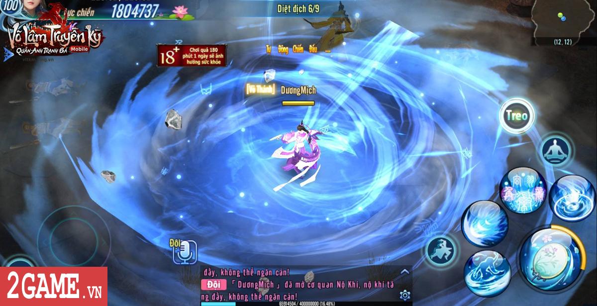 Hơn 100.000 lượt share từ game thủ Võ Lâm Truyền Kỳ Mobile chỉ để chơi Trường ca và Tàng kiếm phái 3