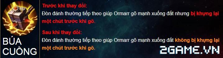Liên Quân Mobile - Tôn ngộ không, Ormarr kẻ nào đập sướng tay hơn trong phiên bản mới 4