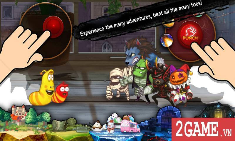 Larva Action Fighter – Game nhập vai đi cảnh max vui nhộn 4