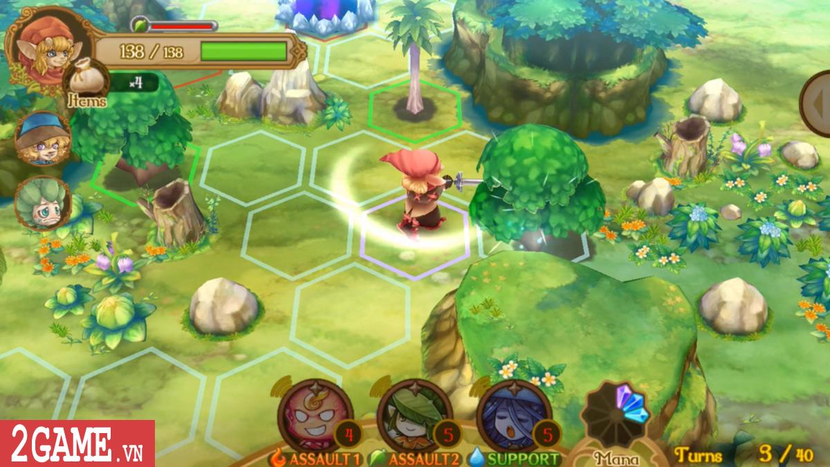 EGGLIA: Legend of the Redcap – Game nhập vai đánh theo lượt đậm chất Nhật Bản 7