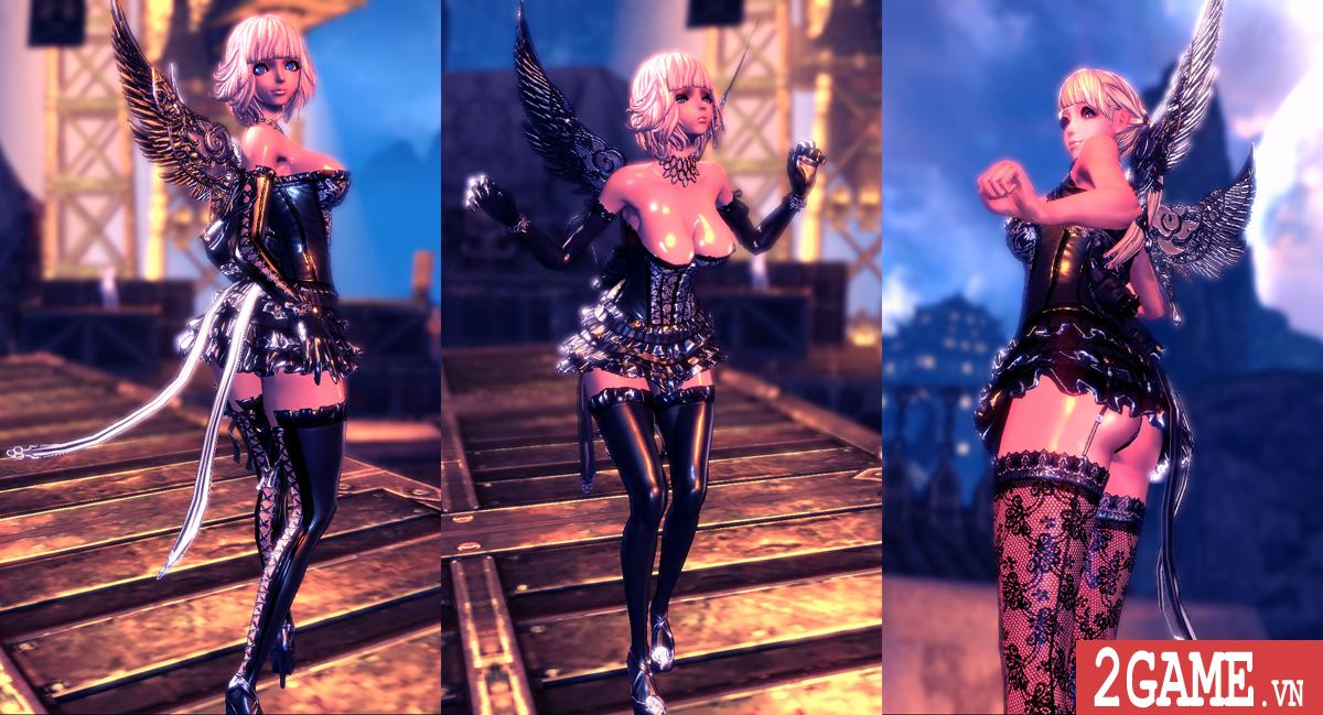 Nữ game thủ phát hoảng khi trông thấy nhân vật trần trụi trong Blade and Soul Việt Nam 5