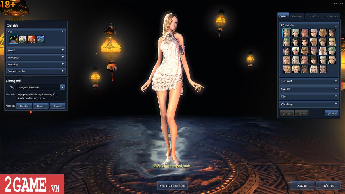 Nữ game thủ phát hoảng khi trông thấy nhân vật trần trụi trong Blade and Soul Việt Nam 1