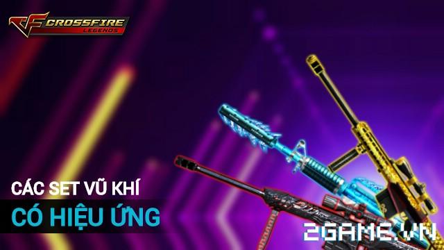 Crossfire Legends - 3 set súng có hiệu ứng đặc biệt 0