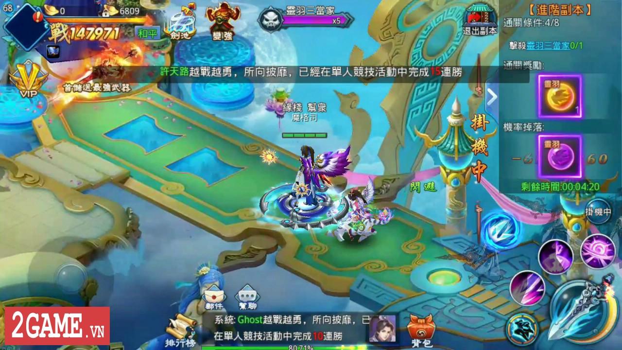 Tử Thanh Song Kiếm Mobile - Thêm một game nhập vai kiếm hiệp xuất xưởng từ VTC Mobile 2