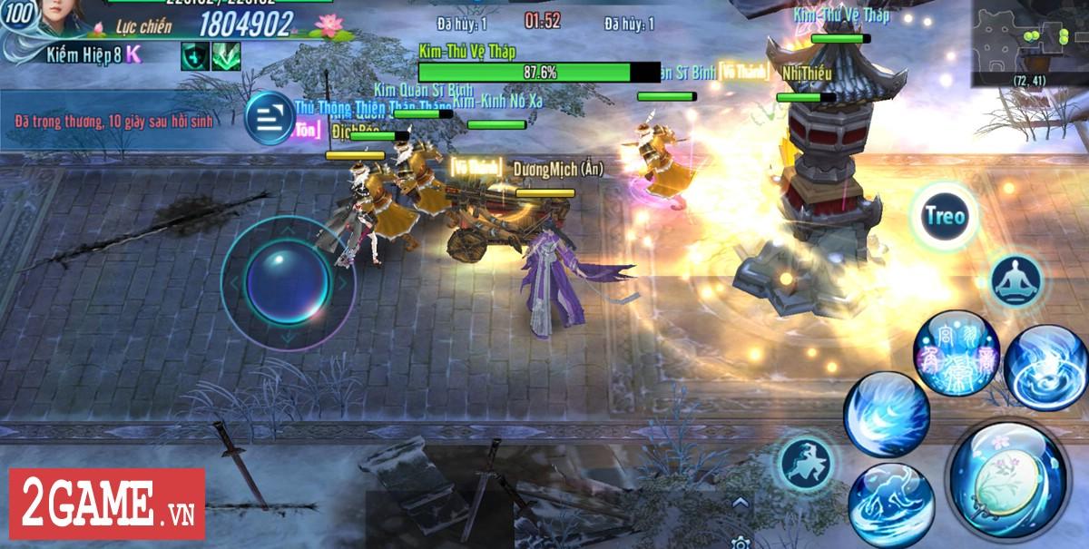 Võ Lâm Truyền Kỳ Mobile sắp cập nhật chế độ chơi kiểu MOBA solo một đường đầy kịch tính 1