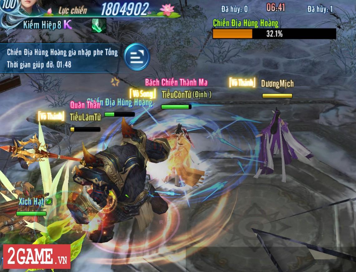 Võ Lâm Truyền Kỳ Mobile sắp cập nhật chế độ chơi kiểu MOBA solo một đường đầy kịch tính 3
