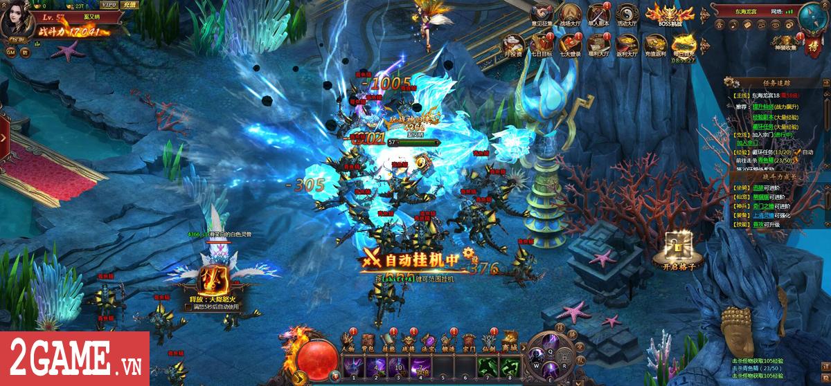 Đại Càn Khôn - Game nhập vai PK trảm boss đã tay công bố ngày thử nghiệm 5