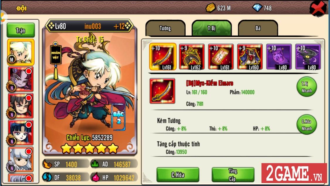 Ngắm nhìn InuYasha Mobile phiên bản Việt hóa hoàn chỉnh 4