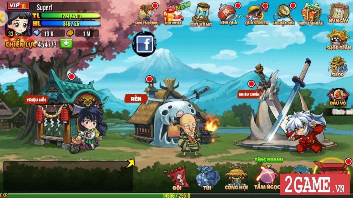 Ngắm nhìn InuYasha Mobile phiên bản Việt hóa hoàn chỉnh 5