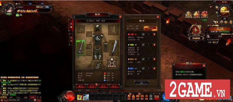 Chơi thử MU Online Web: Cảm giác cày cấp săn đồ trở lại mạnh mẽ khi bạn chơi game này!!! 7