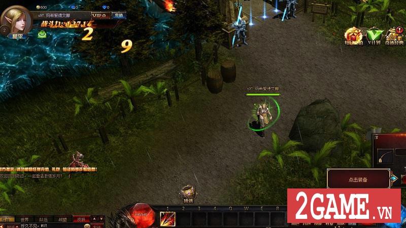 Chơi thử MU Online Web: Cảm giác cày cấp săn đồ trở lại mạnh mẽ khi bạn chơi game này!!! 3