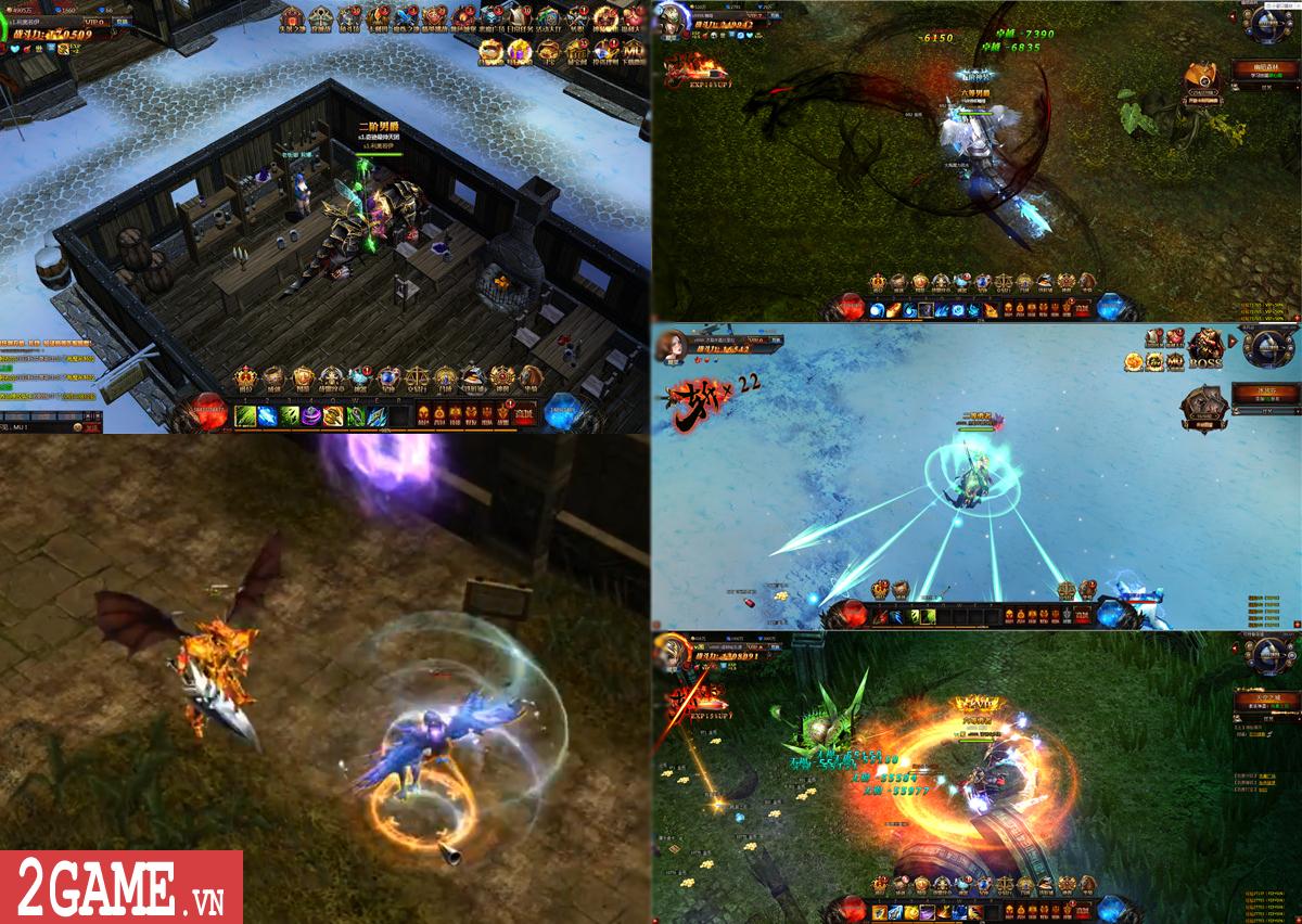 Chơi thử MU Online Web: Cảm giác cày cấp săn đồ trở lại mạnh mẽ khi bạn chơi game này!!! 9