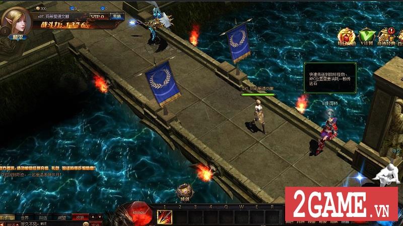 Chơi thử MU Online Web: Cảm giác cày cấp săn đồ trở lại mạnh mẽ khi bạn chơi game này!!! 2