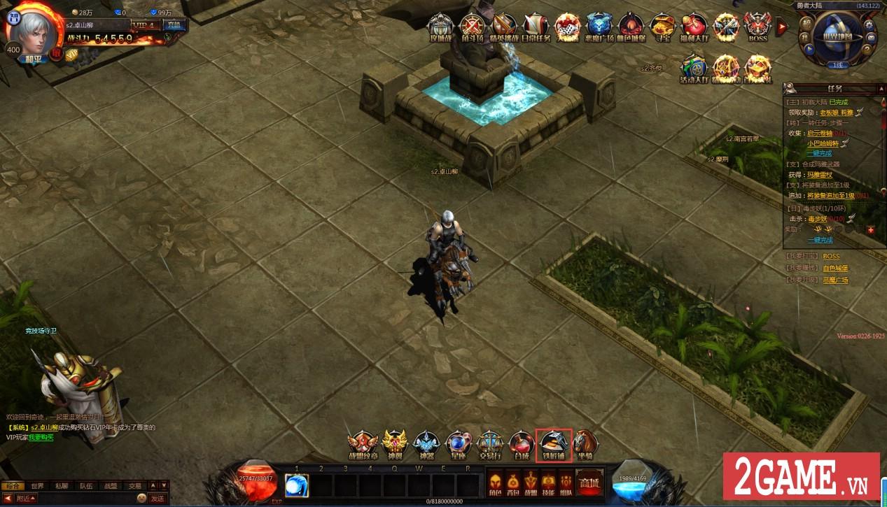 Chơi thử MU Online Web: Cảm giác cày cấp săn đồ trở lại mạnh mẽ khi bạn chơi game này!!! 1