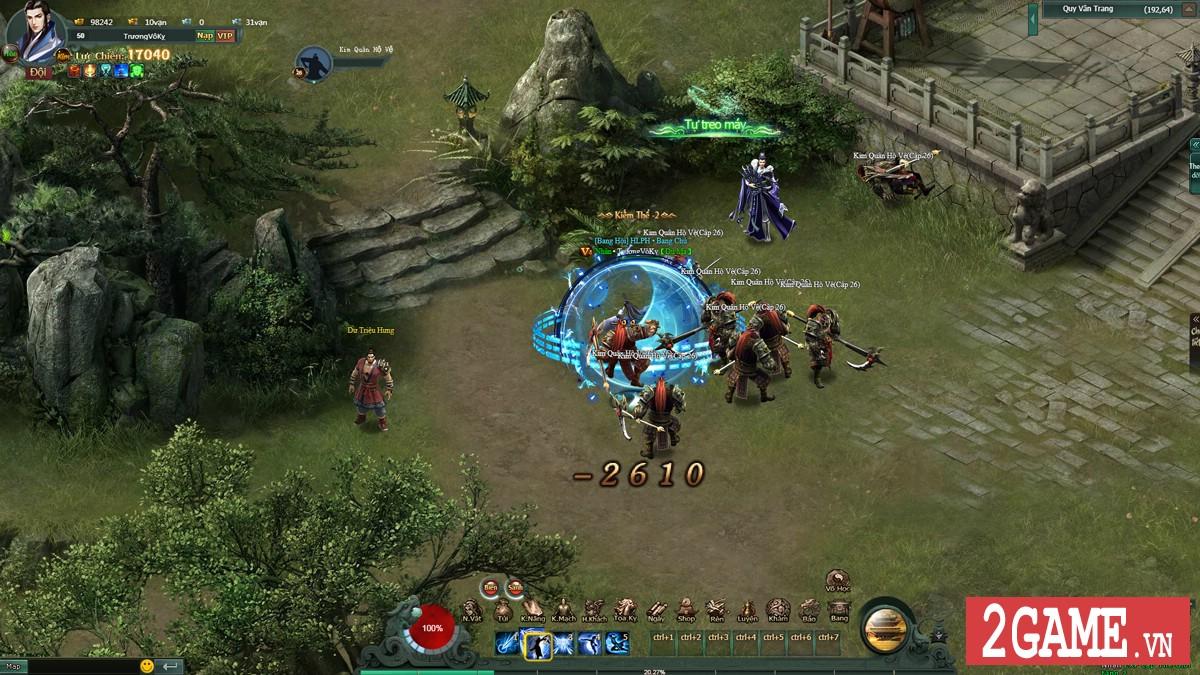 Game Hàng Long Phục Hổ tái dựng thành công trận Công Thành Chiến rực lửa vị Võ lâm 4