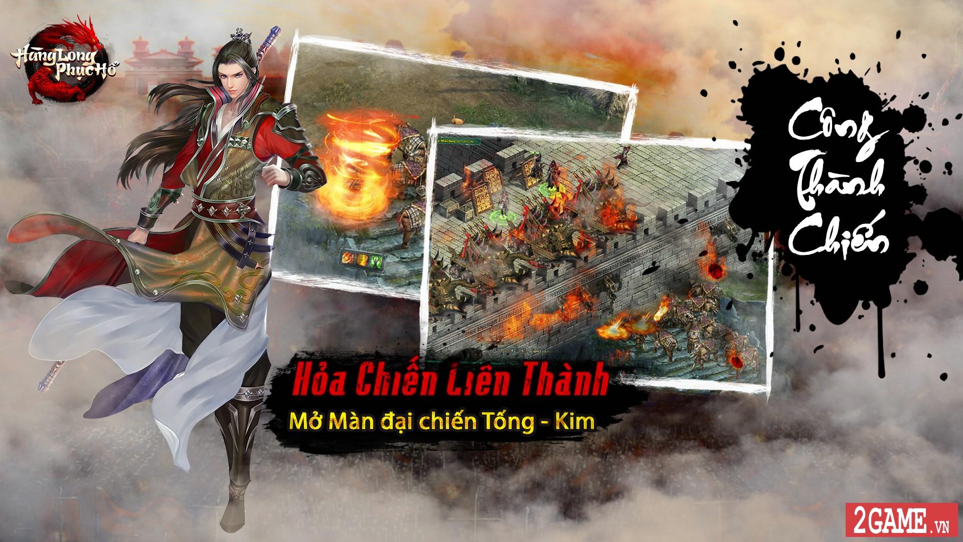 Webgame Hàng Long Phục Hổ mang đến chiến trường thế lực Tống - Kim đầy đổi mới 0