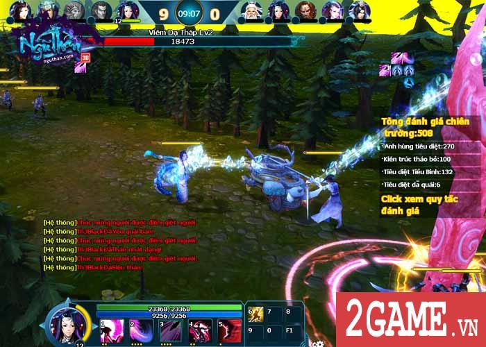 Ngũ Thần Online - Chiến Trường Moba 3