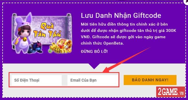 Ngũ Thần Online - Hướng Dẫn Nhận Giftcode Tân Thủ 2