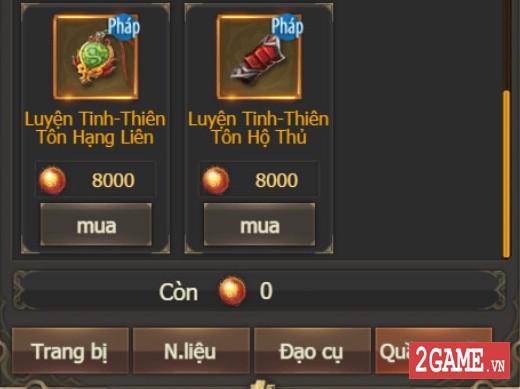 Kiếm Linh H5 - Cửa Hàng 5