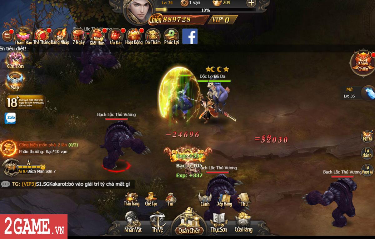 Mừng sinh nhật 2Game tặng 555 giftcode game Kiếm Linh H5 0
