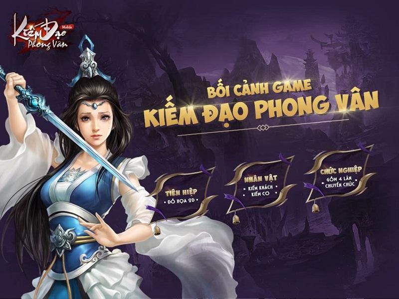 Kiếm Đạo Phong Vân đã sẵn sàng ra mắt game thủ Việt ngay lúc này! 1