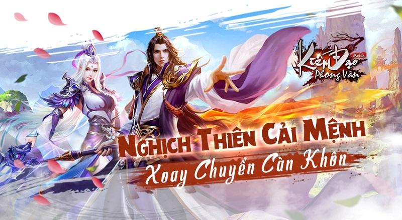 Kiếm Đạo Phong Vân đã sẵn sàng ra mắt game thủ Việt ngay lúc này! 2