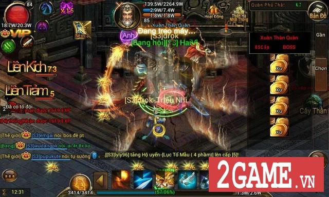 Kỵ Sĩ Rồng Mobile có lẽ là tựa MMORPG 2D hiếm hoi trên mobile mang đến cảnh đông đúc như vầy! 1