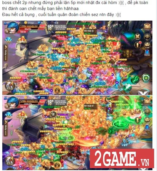 Kỵ Sĩ Rồng Mobile có lẽ là tựa MMORPG 2D hiếm hoi trên mobile mang đến cảnh đông đúc như vầy! 3