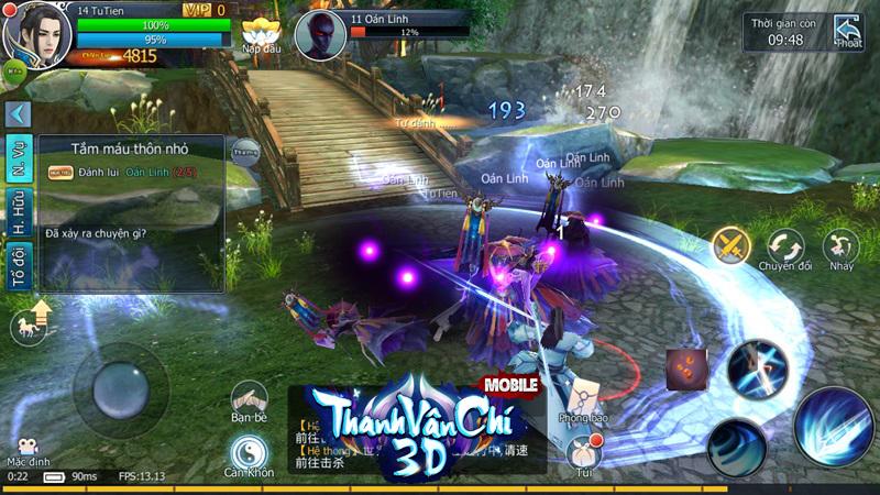 Thanh Vân Chí 3D Mobile công bố ngày ra game tại Việt Nam 1
