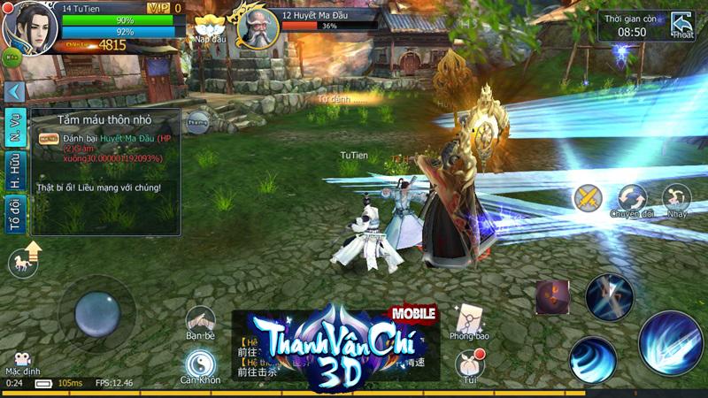 Thanh Vân Chí 3D Mobile công bố ngày ra game tại Việt Nam 3