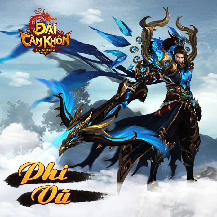 Đại Càn Khôn - Game nhập vai PK trảm boss đã tay công bố ngày thử nghiệm 2