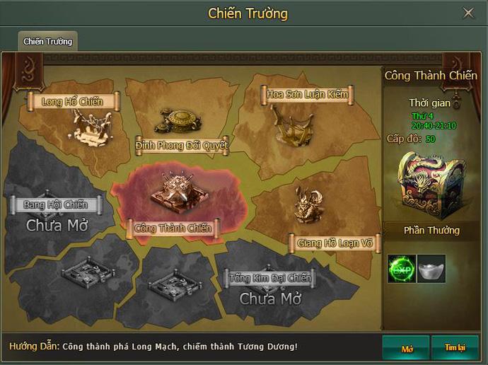 Webgame Hàng Long Phục Hổ mang đến chiến trường thế lực Tống - Kim đầy đổi mới 1