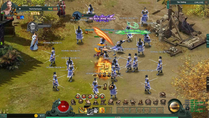 Webgame Hàng Long Phục Hổ mang đến chiến trường thế lực Tống - Kim đầy đổi mới 2