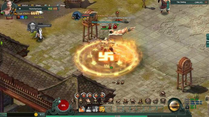 Webgame Hàng Long Phục Hổ mang đến chiến trường thế lực Tống - Kim đầy đổi mới 3