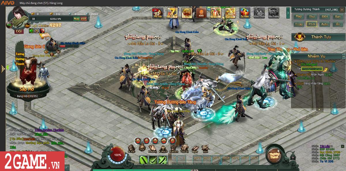 Webgame Hàng Long Phục Hổ mang đến chiến trường thế lực Tống - Kim đầy đổi mới 4