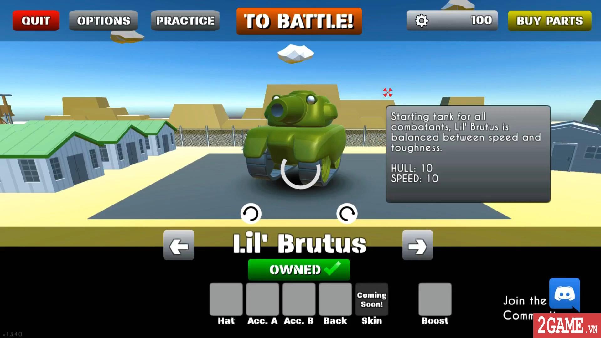 Better Off Tread – Game chiến Tank siêu vui nhộn bất ngờ cho chơi miễn phí trên steam 0