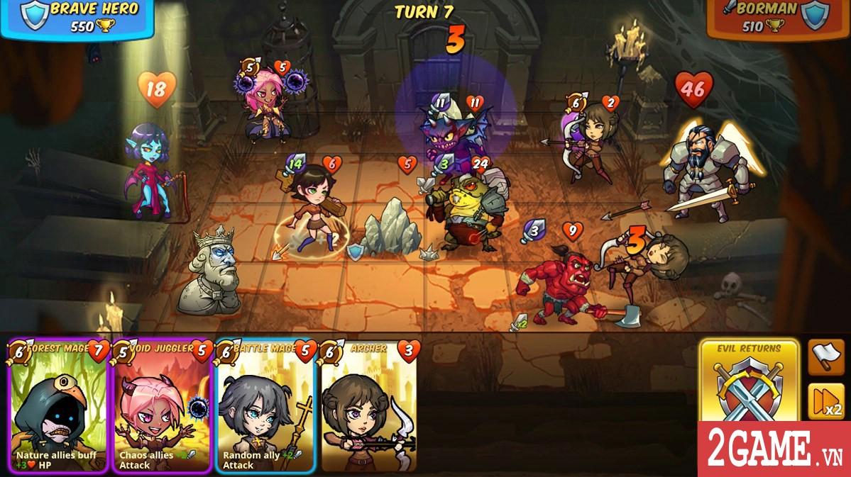 Mighty Party - Đã có thể chơi game chiến thuật bàn cơ siêu hay này trên cả PC lẫn Mobile rồi! 2
