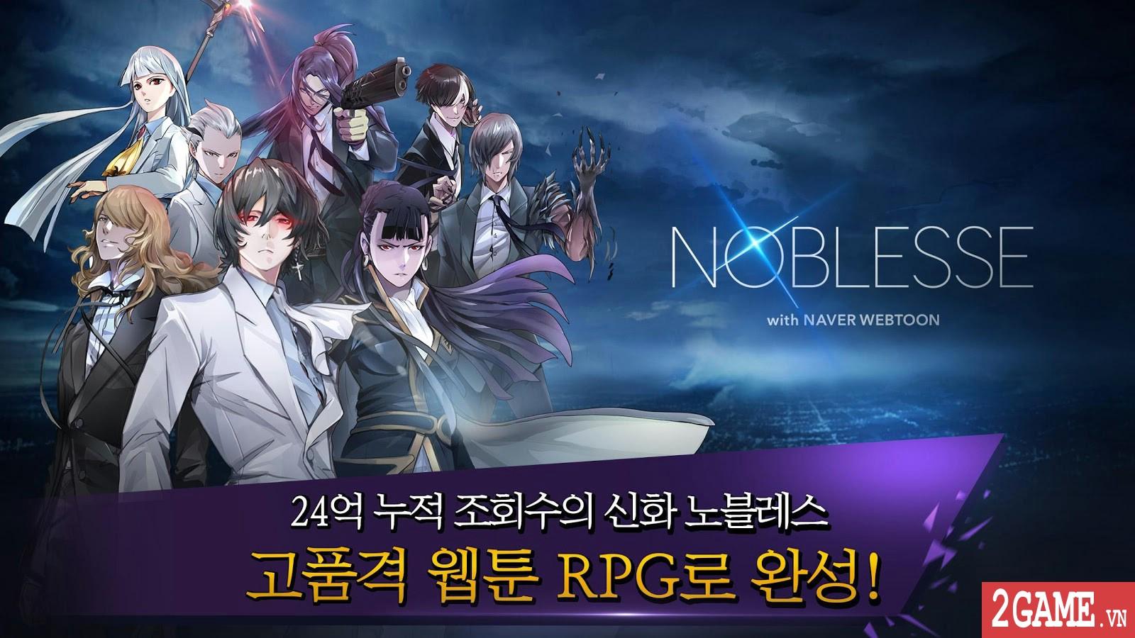 Noblesse - Game nhập vai đánh theo lượt phỏng dựng theo nguyên bản bộ truyện tranh nổi tiếng cùng tên 0